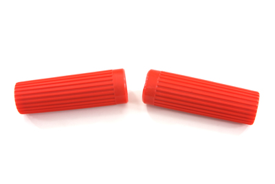 Harley Topper Red Hand Grips