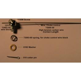 73090-59 Harley Topper choke control wire kit