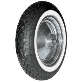 4.00 X 12 Harley Topper White Wall Tire