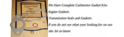 Gaskets/Seals/Bearings