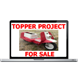Harley Topper Project For Sale